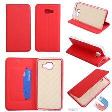 For Samsung J3 J5 J7 2015 2016 2017 Slim Magnetic Wallet Case Flip Leather Cover