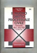 Sergio Beltrani IL NUOVO DIRITTO PROCESSUALE CIVILE # Edizioni Simone 1993 Libro