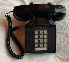 Vintage Premier 2500 Desk Telephone Black, used in excellent condition