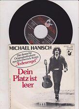 "7"" Pop Michael Hanisch - Dein Platz ist leer HANSA Derrick Folge : Todesengel"