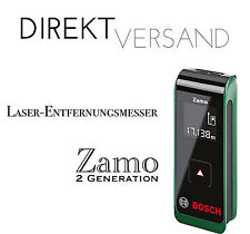 Bosch DIY láser distancia cuchillo zamo 2. Generation, 2 x pilas AAA nuevo & OVP