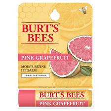 [BURT'S BEES] 100% Natural Beeswax Lip Balm Made in USA (PINK GRAPEFRUIT) NEW