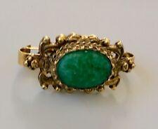 Datato 1903 Antico Anello A Forma Di Serpente 375 Gold Con Peridoto & Granato, Orologi, Ricambi E Accessori