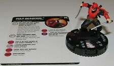 PULP DEADPOOL 067 Deadpool and X-Force Marvel HeroClix Chase Rare