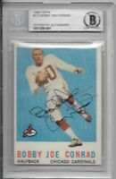 Bobby Joe Conrad Signed 1959 Topps #173 Rookie Beckett Slabbed Autographed BAS