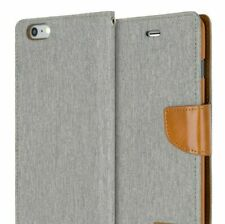 iPhone 6 6s Wallet Case Shockproof GOOSPERY Canvas Diary