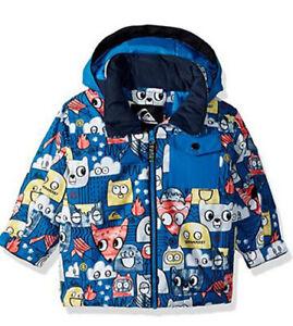 Quiksilver Little Mission Ski Jacket , Grow System Snow Jacket ,Size 6/7, NWT