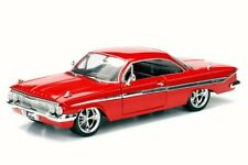1961 DOM'S CHEVY IMPALA F8 FATE OF FURIOUS 1/24 SCALE DIECAST CAR BY JADA 98430