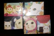 Korean Jetoy Choo Choo Cat Postcard/Invitation/Party Favor/PenPal 5pcs Set 4