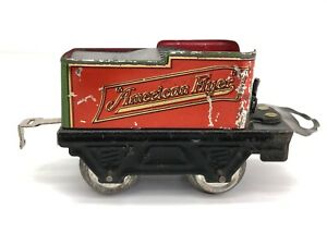 American Flyer Train Coal Car #120 O Gauge Tin Litho