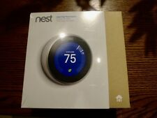 Nest Wi-Fi Learning Thermostat 3rd Generation T3007ES Stainless FACTORY SEALED