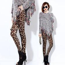 Super SOFT Leopard Leggings UK Size Large
