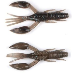 7 x Gummiköder Krabbe 65 mm 4,3 g Forelle usw Fried Raubfisch auch ihn 12 Aromen
