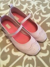 Lacoste Baby Pink Ballerina Style Shoes Size UK 8