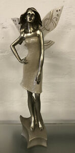 """Fairy Lady Figure Home Decor Ornament Figurine Approx Height: 12"""" ( Ex-Display"""