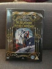 The Nightmare Before Christmas DVD New & Sealed Tim Burton Halloween