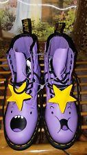 Adventure Time Dr Martens Boots Lavender Princess 5 UK, 6 US M, 7 US L, 38 EU
