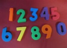 VTG 1972 ALPHABET #923 SCHOOL /days desk Numbers 0-9 Set-Numerals Fisher price