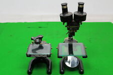 Vintage Prior London Microscope & Parts for Spares / Repair / Refurb
