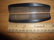 "25 pcs    COMBS  5"" BLACK UNBREAKABLE PLASTIC POCKET HAIR COMBS MENS UNISEX"