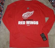 NEW NHL Detroit Red Wings L/S Long Sleeve T Shirt Youth Boys XL 18 20 NEW NWT