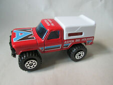 1983 Matchbox MB22 Mini-Camper 4x4 Pickup Truck Aspen Ski Holiday 1/67 (Mint)