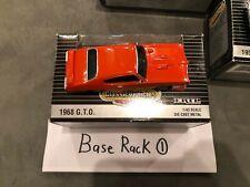 1968 Pontiac GTO #15 ERTL Vintage Vehicles 1:43 Rare Judge Variation Orange