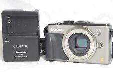 Panasonic LUMIX DMC-GX1 16.0MP Digital Camera Silver Body Only SN001792