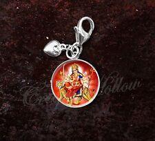925 Sterling Silver Charm Hindu Goddess Durga Devi Shakti
