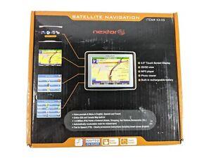 Nextar GPS Satellite Navigation 3.5 Touch Screen System MP3 Player X3-03 Black