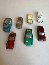 Matchbox lot de 7 voitures 1/64