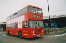 BUS PHOTO PHOTOGRAPH, SOUTHERN VECTIS PICTURE, LEYLAND OLYMPIAN IN RED 715,RYDE.