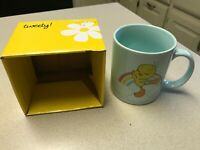Tweety Bird Irresistable Warner Brothers Cartoon Logo Coffee Mug Cup