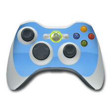 Xbox 360 Controller Skin - Solid Blue - Vinyl Decal DecalGirl Sticker