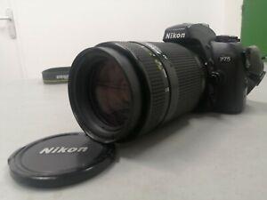 Appareil photo argentique, NIKON F75, objetctif Nikon AF NIKKOR 70-210mm,1:4-5,6