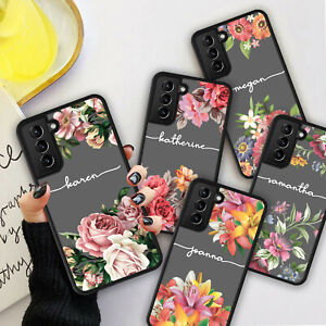 PERSONALISED VINTAGE FLOWERS Phone Hard Case Cover For iPhone 7 8 12 13 Pro Max