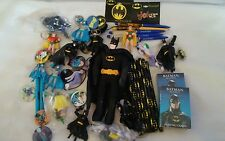 Huge Lot of Misc. Batman Robin Joker Cards Toys Memorabilia Pins & MUCH MORE