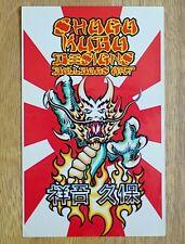 Vintage skateboard GRAIL Sticker SHOGO KUBU Bulldog BDS Wes Humpston Dogtown