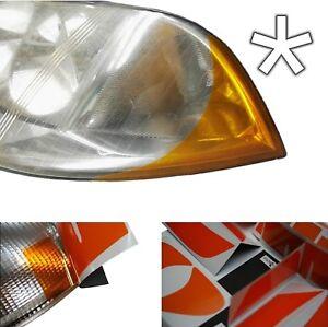US -Design- Folie für Scheinwerfer VW Passat B5GP /Typ3BG ab 10/00 Xenon Blinker