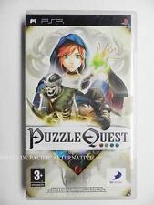 jeu PUZZLE QUEST sur sony PSP game spiel juego gioco reflexion periple aventure