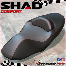 SHAD SELLA COMFORT 100% IMPERMEABILE NERA/ROSSA PER YAMAHA X-MAX 125 250