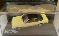 "DIE CAST "" OPEL COMMODORE B GS/E 1972 - 1977 "" OPEL COLLECTION SCALA 1/43"
