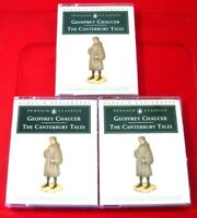 Geoffrey Chaucer The Canterbury Tales 6-Tape Audio Prunella Scales/Andrew Sachs+