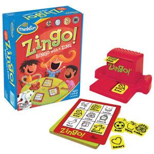 Thinkfun Zingo Bingo - Kids Picture Word Recognition Lotto Game