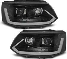VW Transporter T5.1 2010-2015 LED DRL headlights Headlamps with dynamic indicato