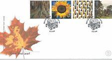 WBC. - GB-Primo giorno di Copertura-FDC-commems -2000 - AGOSTO-Tree/Leaf U/una PMK austl