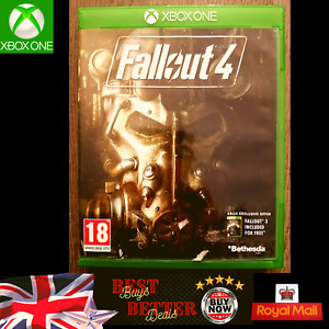 Fallout 4 Xbox One Game TESTED Free UK Delivery Very Good Condition