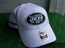 Bridgestone Golf New York Jets White Golf Hat Cap '47 NFL Team Adjustable NEW