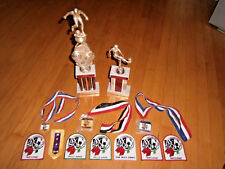 AYSO So Cal Soccer League Champions Trophy / Medals Skill MVP Patches 1992-1994