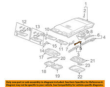 HONDA OEM 03-04 Accord Interior-Roof-Front Bracket 83241SDAA00ZZ